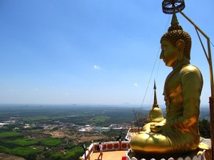 Buddha with a view.